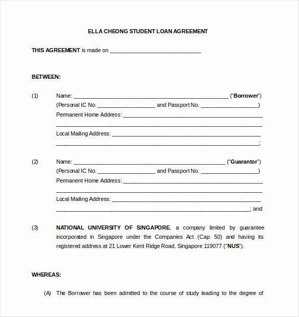 Personal Loan Form Template Best Of 19 Loan Agreement Templates Free Word Pdf Format Contract Template Personal Loans Loan
