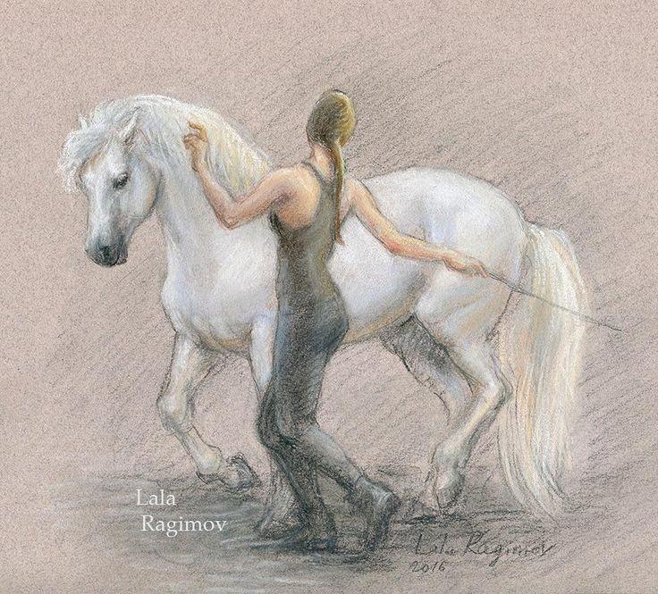 Pastel a horse and trainer dancing a piaffe.  #connemara #connemarapony #exmoorpony #exmoor #pony #gelding #paard #pferd #cavallo #piaffe #dressage #libertytraining #liberty  #dressage #horseandrider #horse #horselovers #irishhorse #horsepainting #horsedrawing #horseportrait #horseart #horsy #pastel #pastelpencils #pastelpainting #painting  #пастель #рисунок  Thank you @horsebalance for the video reference! Pastel chalks and pencils . .