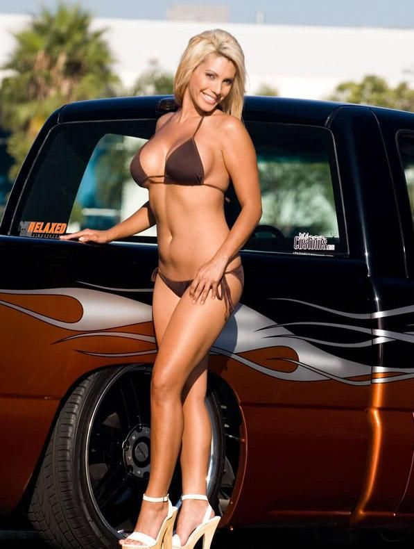 hot rods and sexy women