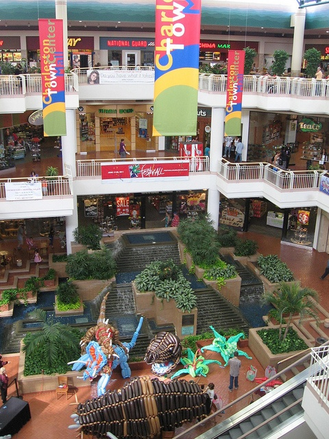 Charleston Town Center Mall by Andrew T..., via Flickr  I had a job here setting up one of the stores in here ( Deb Shop)