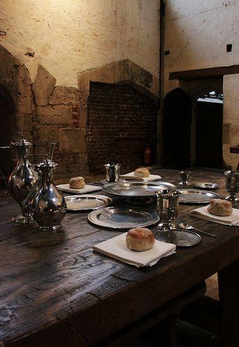 The Tudor kitchens at Hampton Court Palace