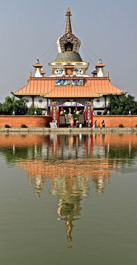 Bouddha Temple at Lumbini