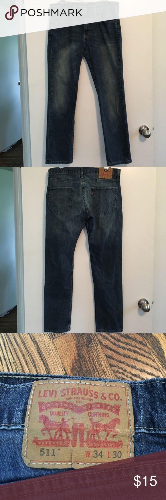 511 LEVI JEANS!!! 511 Cut, Size 34x30, Regular wash Levi's Jeans