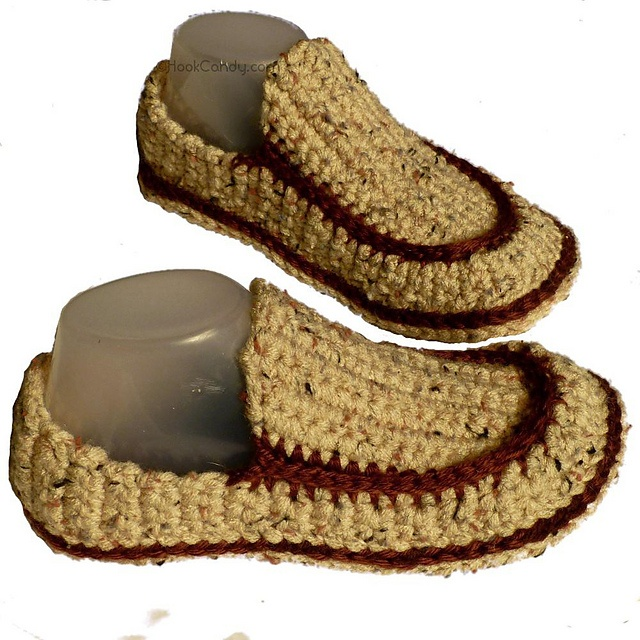 4d369cd65ca Loafer Slippers (men and women) pattern by Sylver Santika