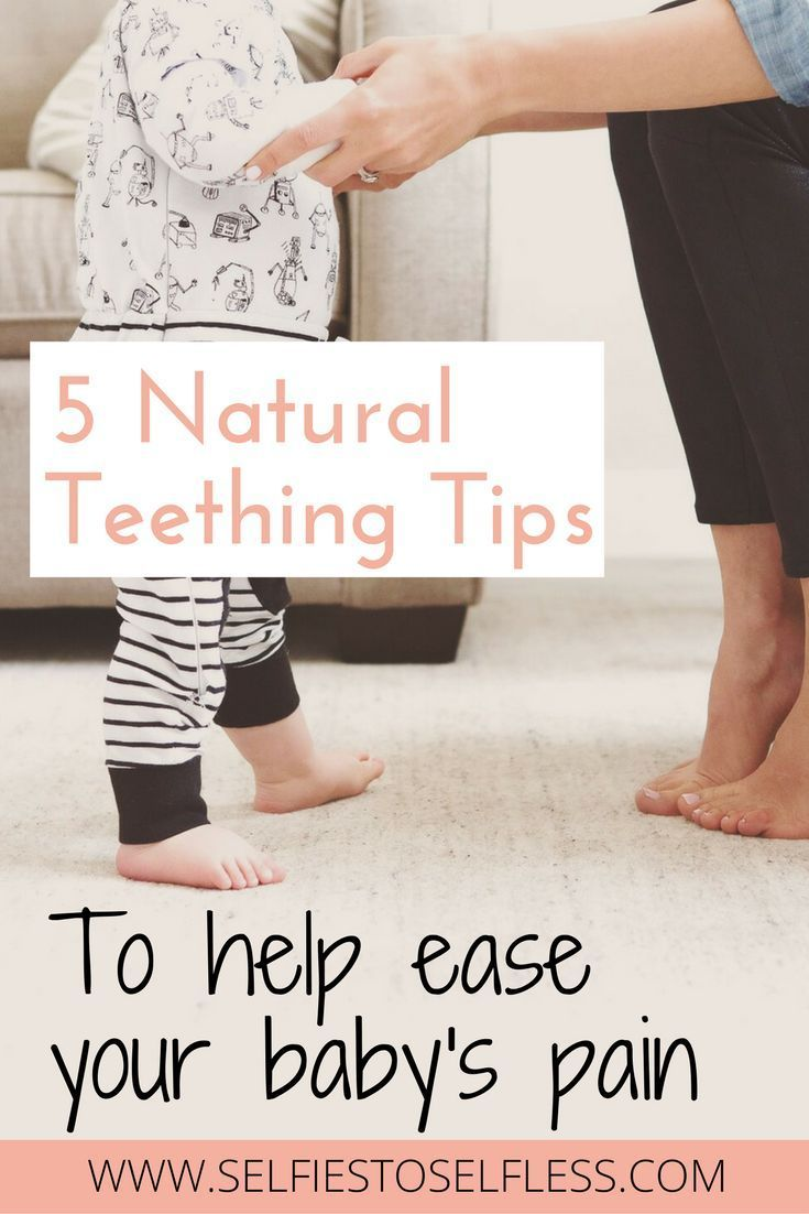 Try these 5 natural teething tips to ease your baby's discomfort!
