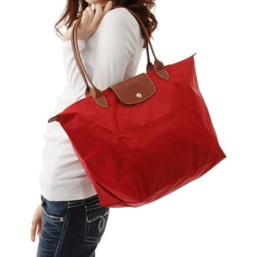 e8ef9a4555 LongChamp Le Pliage Medium Tote Long Handle - Red-1 1899089-545 $470 MYR  Cash | my style in 2019 | Longchamp, Medium tote, Bags