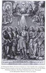 Los siete arcángeles de Jerónimo Wierix (c. 1600)
