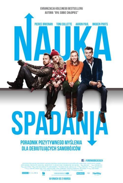 """""""Nauka spadania"""" - 27 marca 2014, godz. 18:30 Kino Zorza Rzeszów; 2 kwietnia 2014, godz. 19:00, Kino Luna Warszawa; 4 kwietnia 2014, godz. 18:00, Kino Iluzja Częstochowa"""