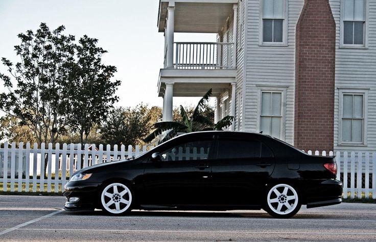 toyotacorollablackwhite4 Rides & Styling Toyota