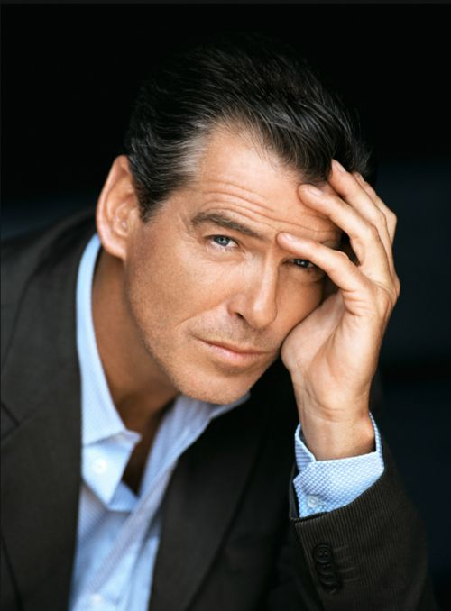 Pierce Brosnan..made to live James Bond..slick, sleek, sexy, well defined, charismatic and that seems to permeate all his roles..huge YES.