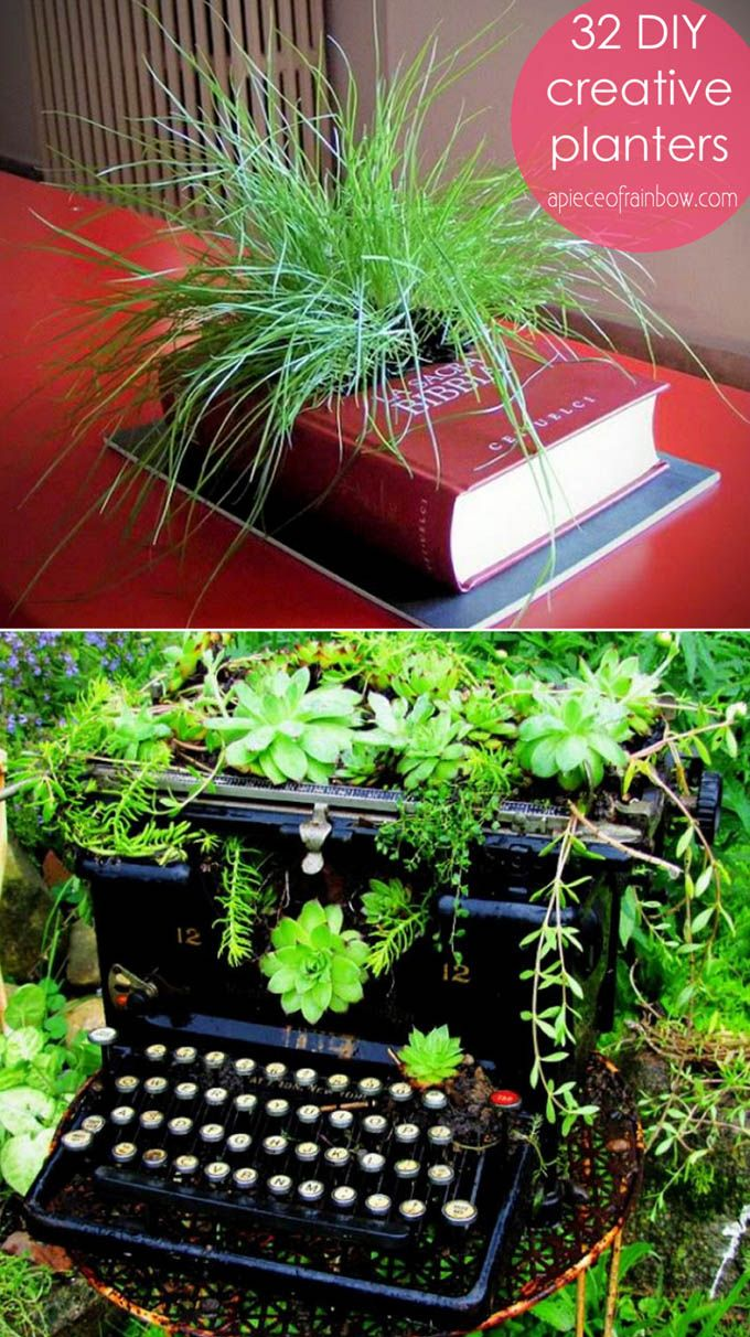 936 best crazy ideas for planters images on pinterest gardening
