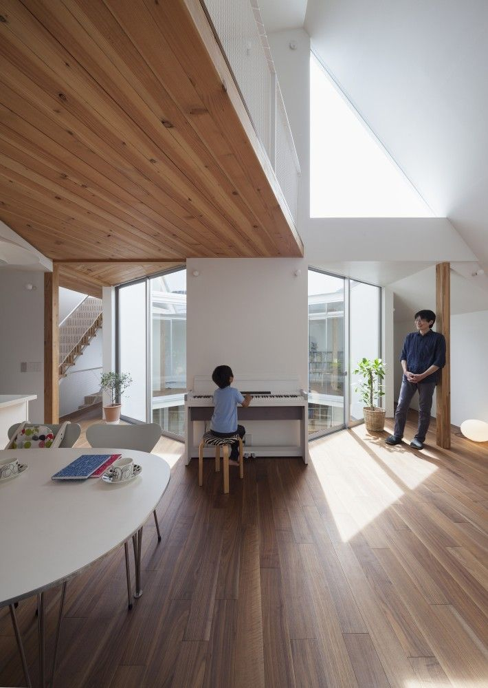 Detached Floor House / Jun Yashiki & Associates