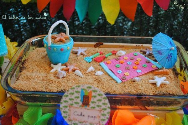 fiestas y cumpleaños ideas decoración tropical verano hawaiana ...