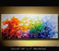 Résultats de recherche d'images pour «pinturas abstractas al oleo de arboles»