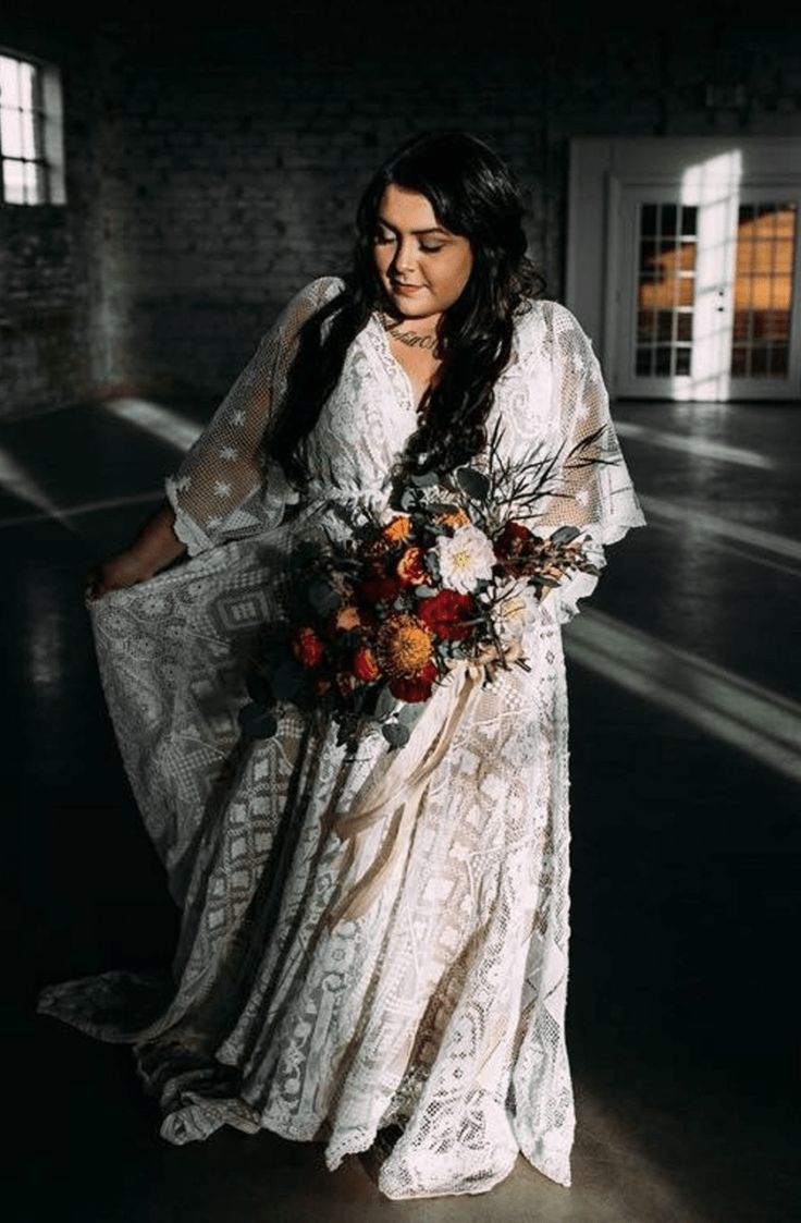 6 Gorgeous Affordable Plus Size Boho Wedding Dresses Fly By Night Wedding Boho Wedding Dress Lace Boho Wedding Dress Bridesmaid Dresses Long Champagne [ 1123 x 736 Pixel ]