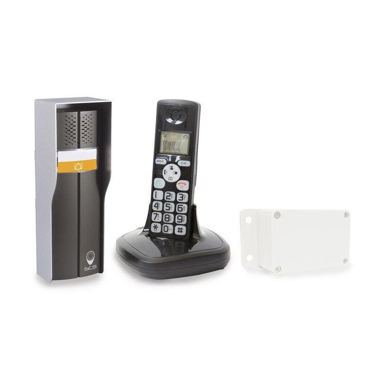 Interphone Sans Fil Scs Sentinel Duophone 150 Castorama Piscine Hors Sol Design Et Cache Cable