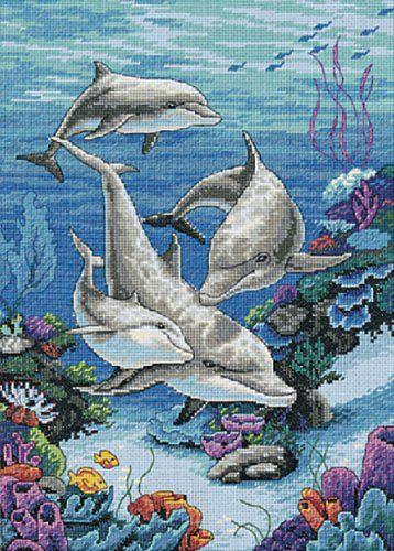 Dimensions Needlecrafts Counted Cross Stitch, The Dolphins Domain Dimensions Needlecrafts,http://www.amazon.com/dp/B0006HIHAC/ref=cm_sw_r_pi_dp_1gXZsb05G7SXZJW8