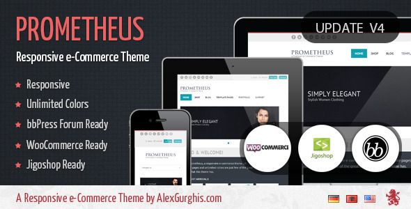 Deals Prometheus - A Responsive e-Commerce Themewe are given they also recommend where is the best to buy