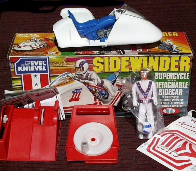 53 best images about evel knievel toys collectibles 1973. Black Bedroom Furniture Sets. Home Design Ideas
