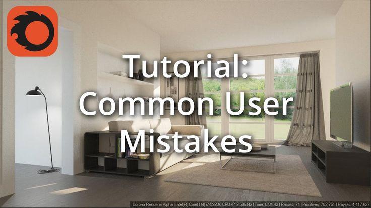 Tutorial: Common User Mistakes