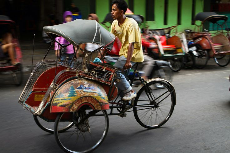 Becak Driver, Yogyakarta Indonesia by Thomas Dembie on 500px