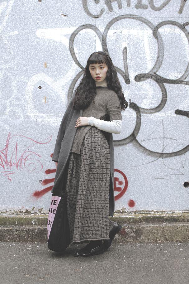 [Street Style] るうこ | Student | Harajuku (Tokyo)