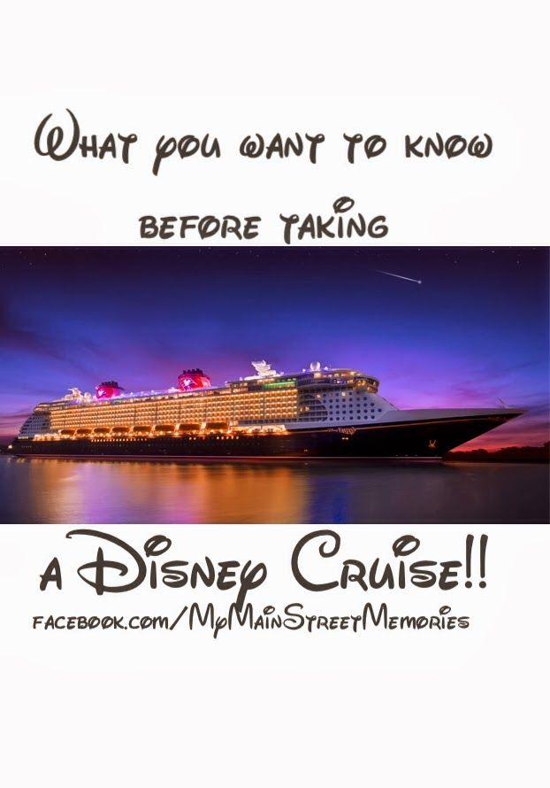 tips before you take a Disney cruise!