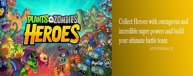 Plants vs. Zombies Heroes is an Casual Action & Adventure game for android Download latest version of Plants vs. Zombies Heroes MOD Apk [Mega Hack] 1.14.13 for Android from apkonehack with direct link Plants vs. Zombies Heroes MOD Apk Description Version: 1.14.13 Package:...
