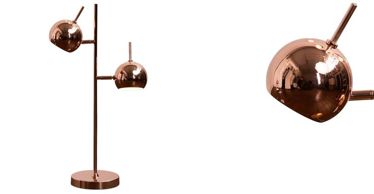Austin Table Lamp, Copper