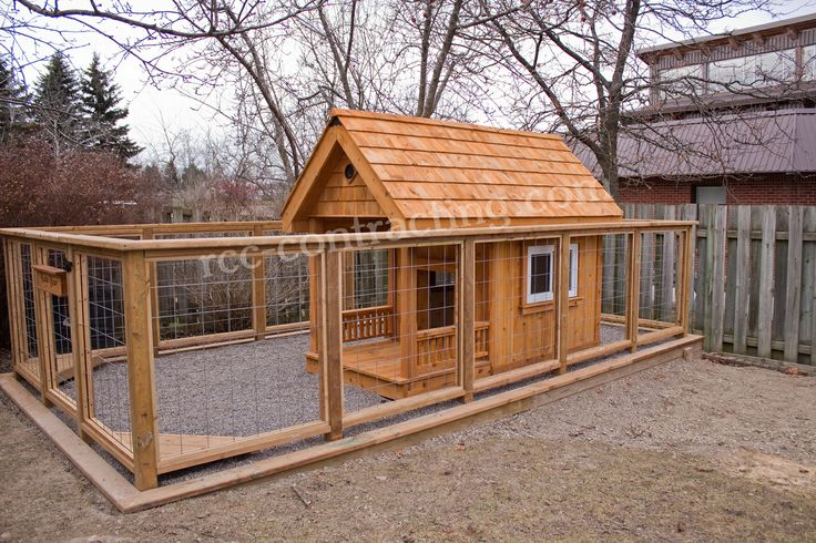 Decorative Outdoor Dog Kennel