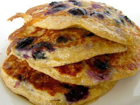 Make 2-3 Pancakes. Mix 1/2 C Vi Shape Mix, 1/4 C vanilla coconut milk, 1 Egg, 1/8 C ground flax meal and 1/2 C Blueberries together in mixing bowl. Stir in fruit, gently. Pour Batter onto slightly greased skillet. When pancake bubbles around edges and towards center, turn. Pancake is done when golden brown. Top as desired and ENJOY! My daughter wanted me to make these with mini- chocolate chips--if I find some sugar free,I'll give it a whirl.  http://www.premiumhealthbyvi.com: Golden Brown, Mixed Bowls, Grease Skillets, Recipes, Blueberries Pancakes, Protein Pancakes, Pour Batter, Blueberry Pancakes, Vi Shakes