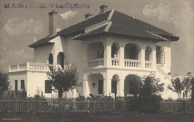 Mangalia - Vila Carlova - interbelica