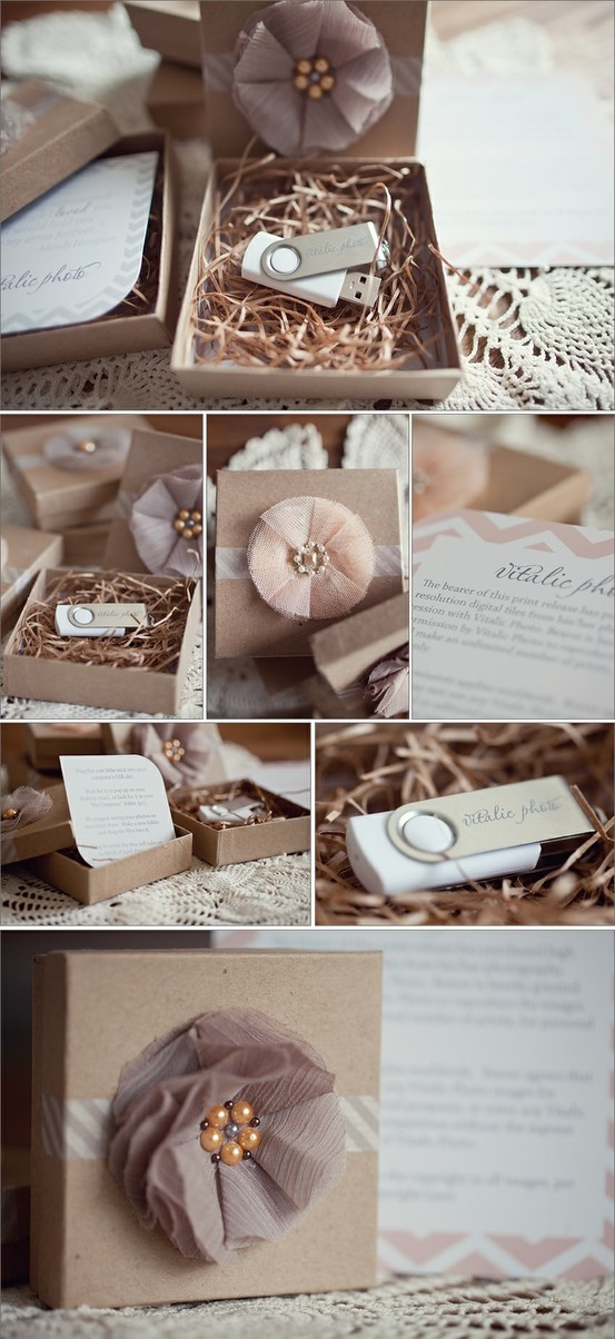 packaging - Click image to find more Photography Pinterest pinsPhotos Packaging, Photography Marketing, Photography Packaging, Soft Colors, Client Gift, Usb Flash Drive, Pretty Packaging, Usb Packaging, Bridesmaid Gift