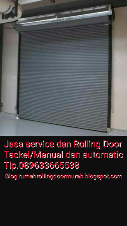 Kami Adalah Penyedia jasa service dan pasang Baru Rolling Door, Folding Gate, Rolling Grille, Harmonika, Garasi Door dengan jaminan pekerjaa...