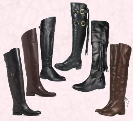 Favorite kind of shoe: Over the knee boots!