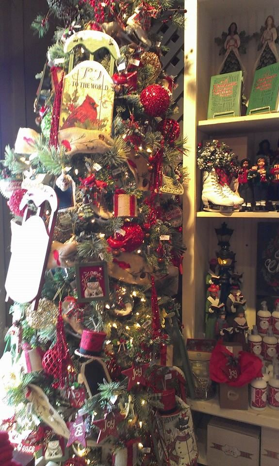35 best ceramic christmas trees images on pinterest for Is cracker barrel open on christmas day