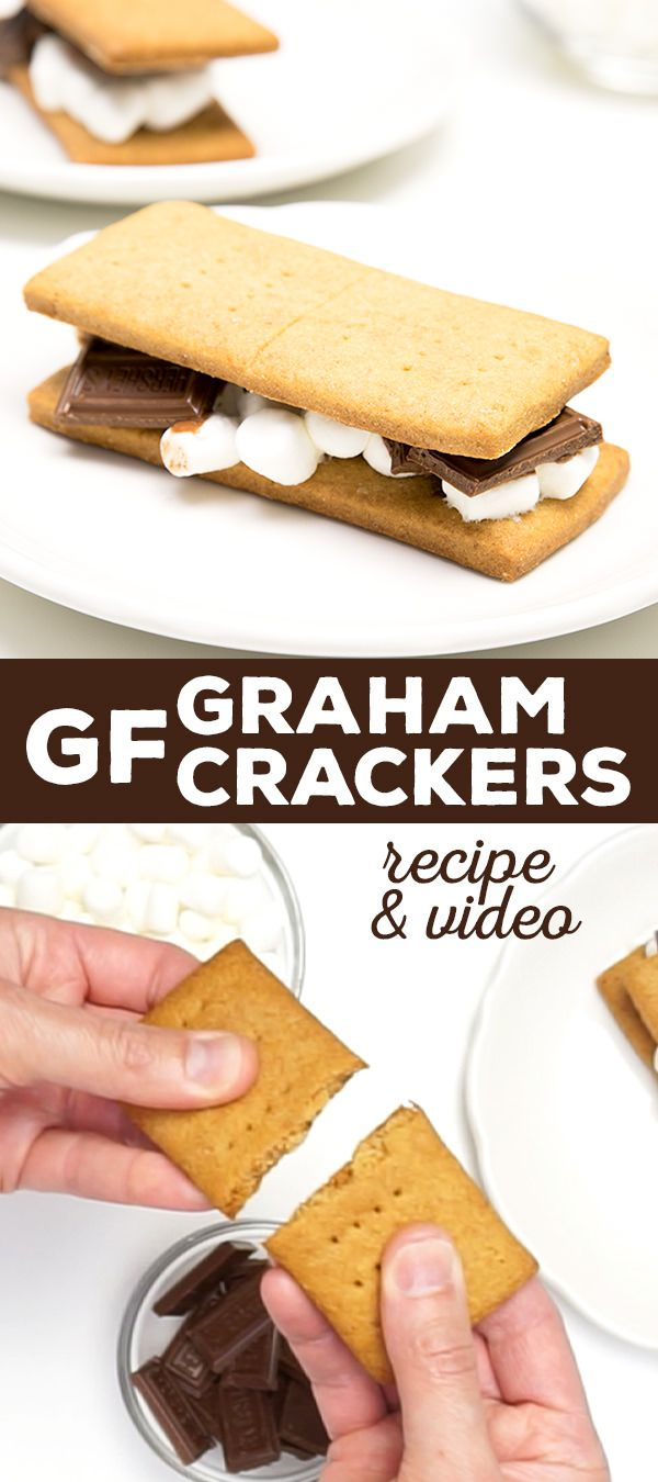 The perfect gluten free graham crackers. All the taste and texture of a
