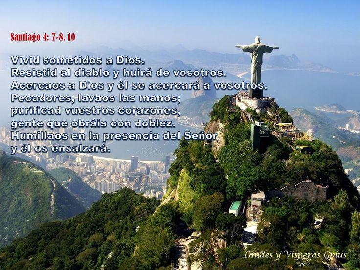 #VÍSPERAS http://www.liturgiadelashoras.com.ar/sync/2016/mar/03/visperas.htm Himno Salmo 131 I - PROMESAS A LA CASA DE DAVID. Salmo 131 II Ant 3. El Señor le dio el poder, el honor y el reino, y todos los PUEBLOS le servirán. Ap 11,17-18; 12,10-12a St 4,7-8. 10 Vivid sometidos a Dios.Resistid al diablo y huirá de vosotros Acercaos a Dios y él se acercará a vosotros. Pecadores, lavaos las manos; purificad vuestros corazones, gente que obráis con doblez. Humillaos en la presencia del Señor