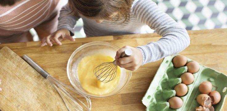 Recetas de cocina para hacer con niños