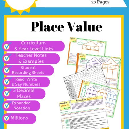 Place Value Dice Games - Australian Curriculum Linked F-Y6