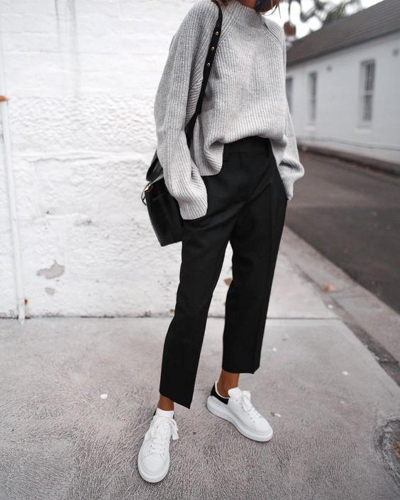 Comment porter le pull en grosse maille avec style ?
