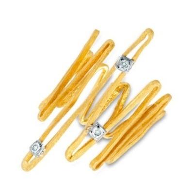 Ring Yellow Gold 18k Diamonds www.parthenon-greekjewelry.com