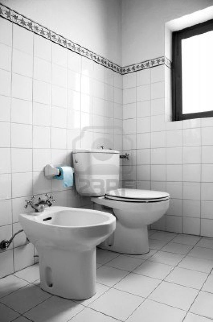 Bathroom Design, Enchanting Toilet And Bidet Combination In Black And White  Image Of A Restroom With Blue Toilet Paper Also Square Pattern Ceramics  Walls ...