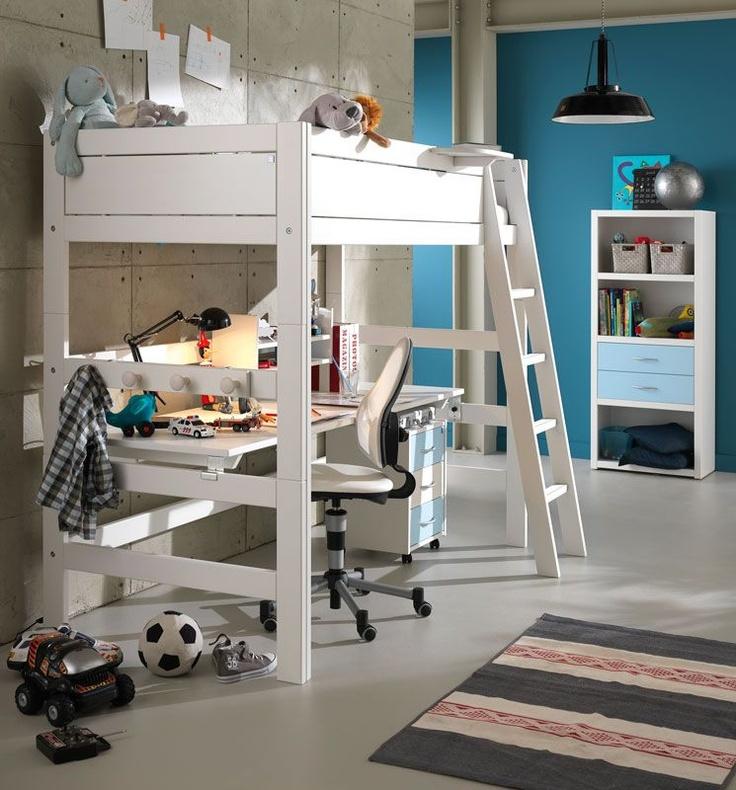 Oltre 1000 idee su scrivania per letto a castello su - Scrivania da letto ...