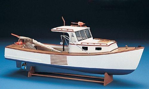 Booth bay lobster boat model kit lobster boat kit boat for Model fishing boats