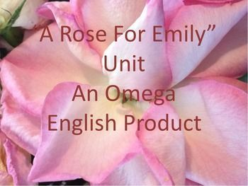 """by emily essay faulkner rose william William faulkner's a rose for emily in william faulkner's """"a rose for emily"""", the narrative voice is a detached witness to the events in miss emily's life."""