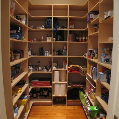 17 best images about walk in pantry organization on for Large walk in pantry