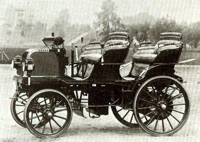 1883 Daimler--one of the first.  We should be thankful to Gottlieb Daimler for his fabulous cars ═══════════════════════════════════ Boutique de créations de documents philatéliques uniques et originaux. Cela peut même intéresser des non-philatélistes. Cela vaut le détour … https://www.alittlemarket.com/boutique/au_royaume_du_timbre-3130013.html