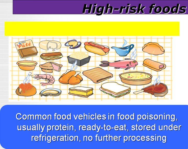 High Risk Foods