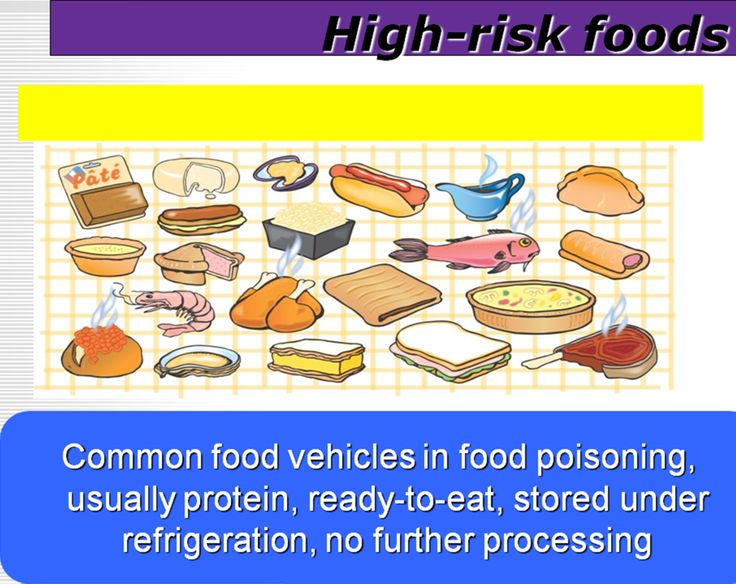 High Risk Foods
